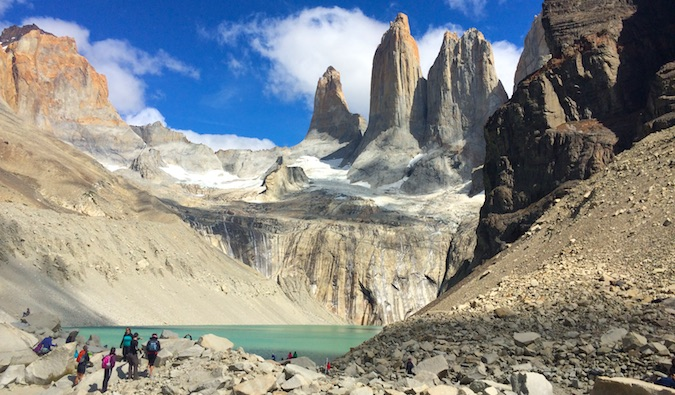 Torres Towers in Torres del Paine National Park