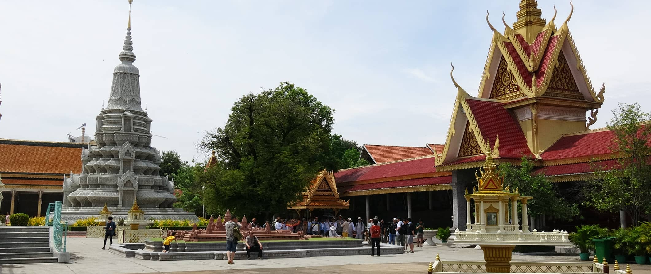 temple view in Phnom Penh