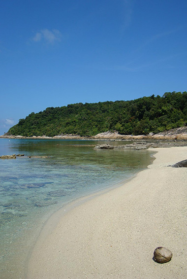 The beautiful beaches of the Perhentian Islands