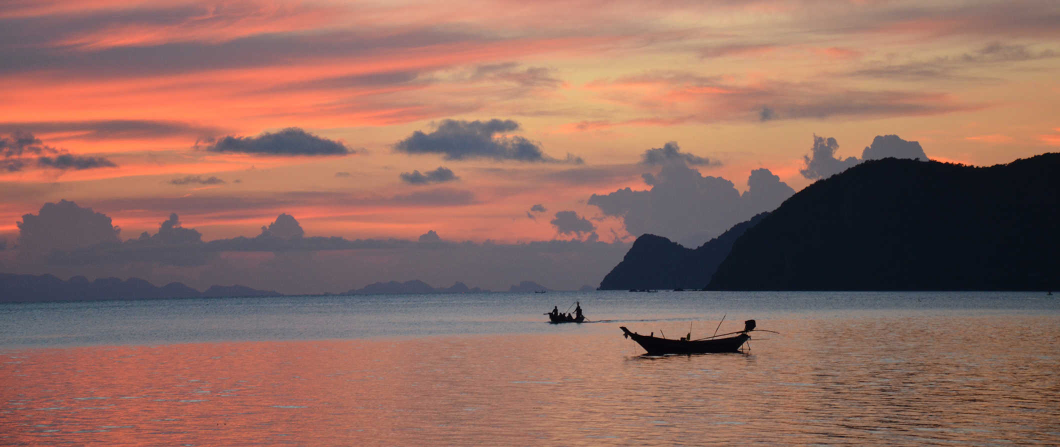 Ko Pha Ngan at sunset