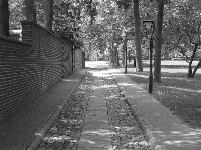 Philadelphia old streets