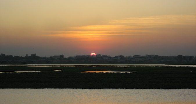 Beoung Kak Lake, Cambodia in 2007