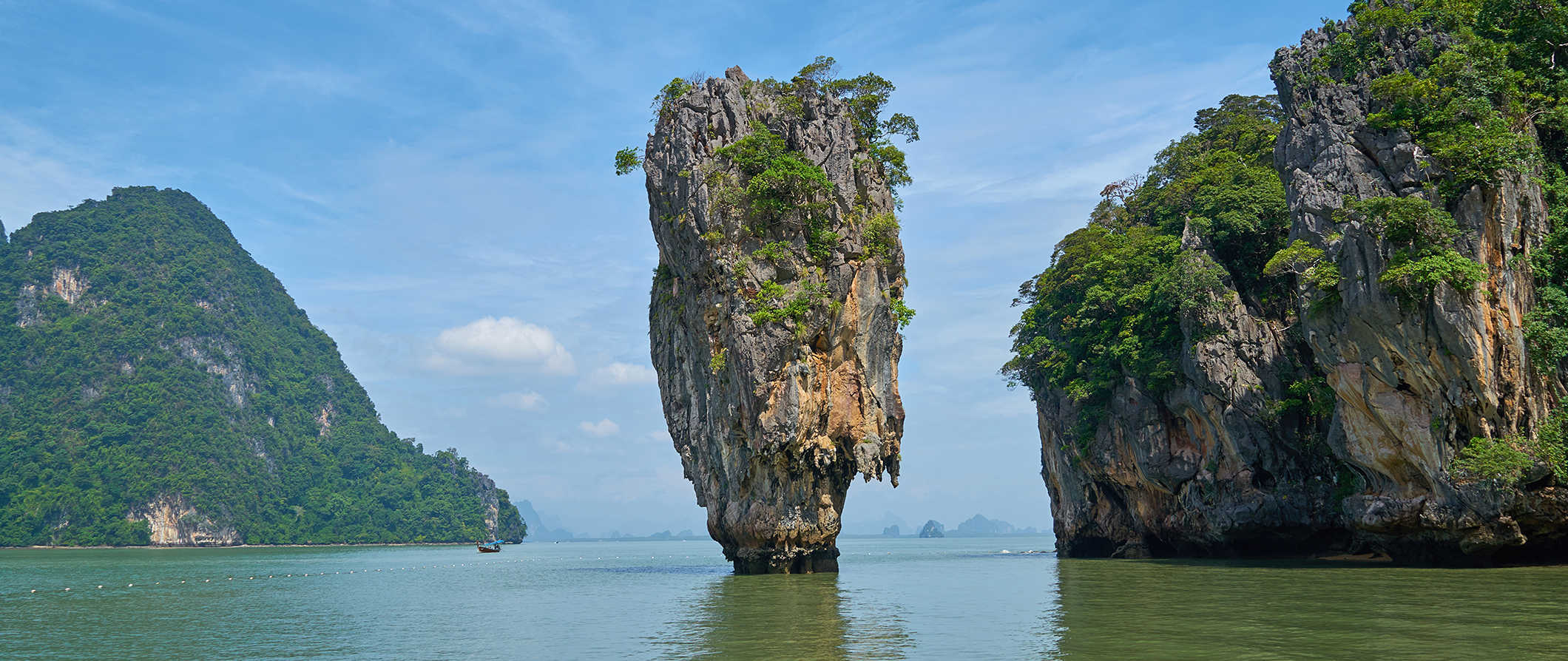 limestone formations in Phuket