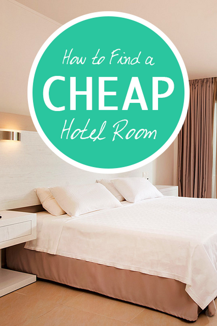 how to find a cheap hotel room