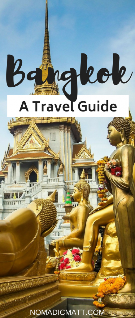 bangkok itinerary with temples and gold buddhas