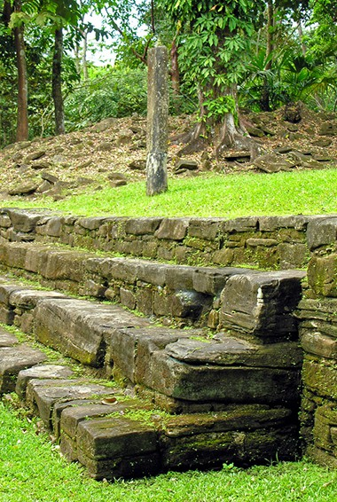 A photo of a tomb in Nim Li Punit by C Michael Hogan