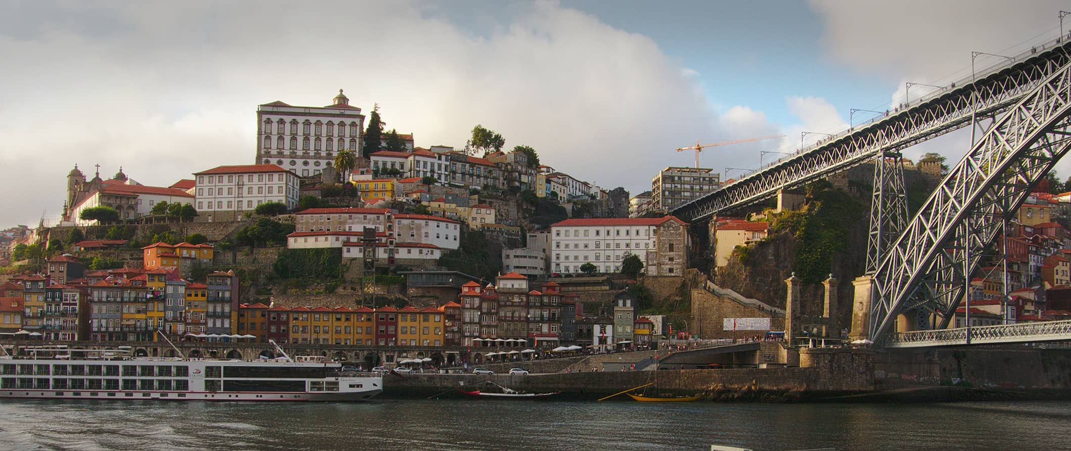 Porto from the Douro River