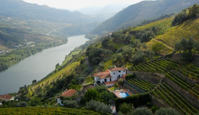 the douro valley portugal