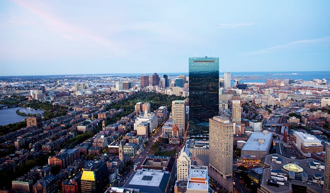 Prudential Tower of Boston, Massachusetts
