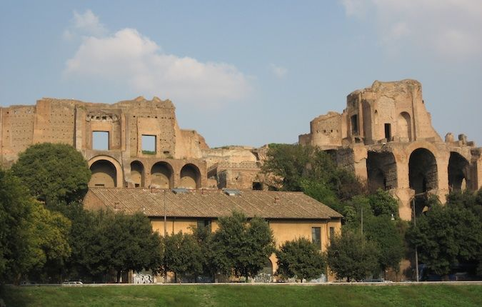 palatine hill in ancient rome