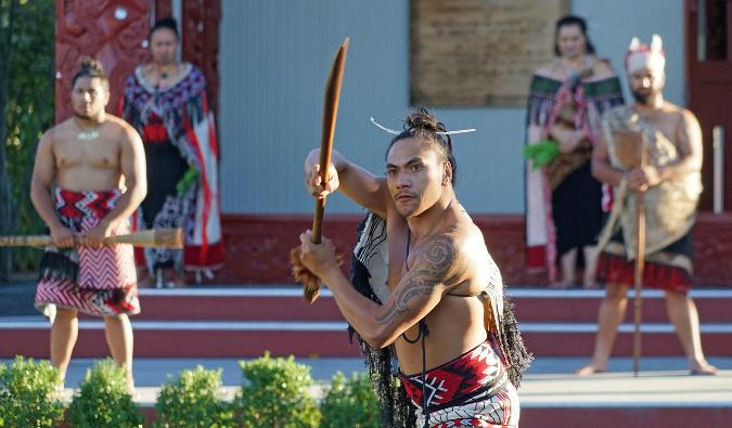 Rotorua maori show