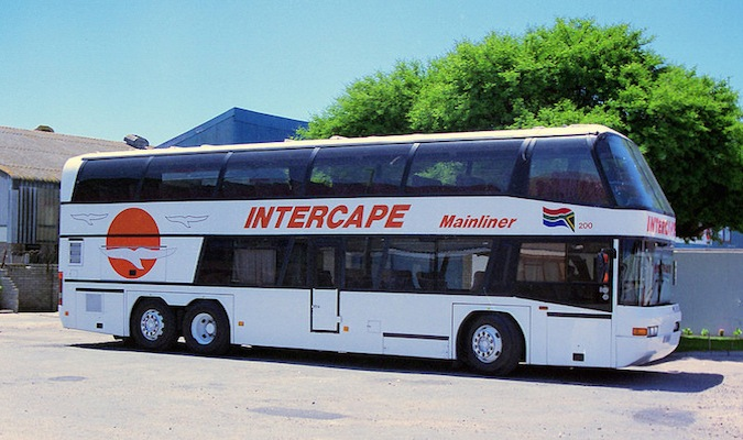 intercape bus in south africa