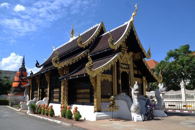 Ornate Doi Step in the Thai mountains