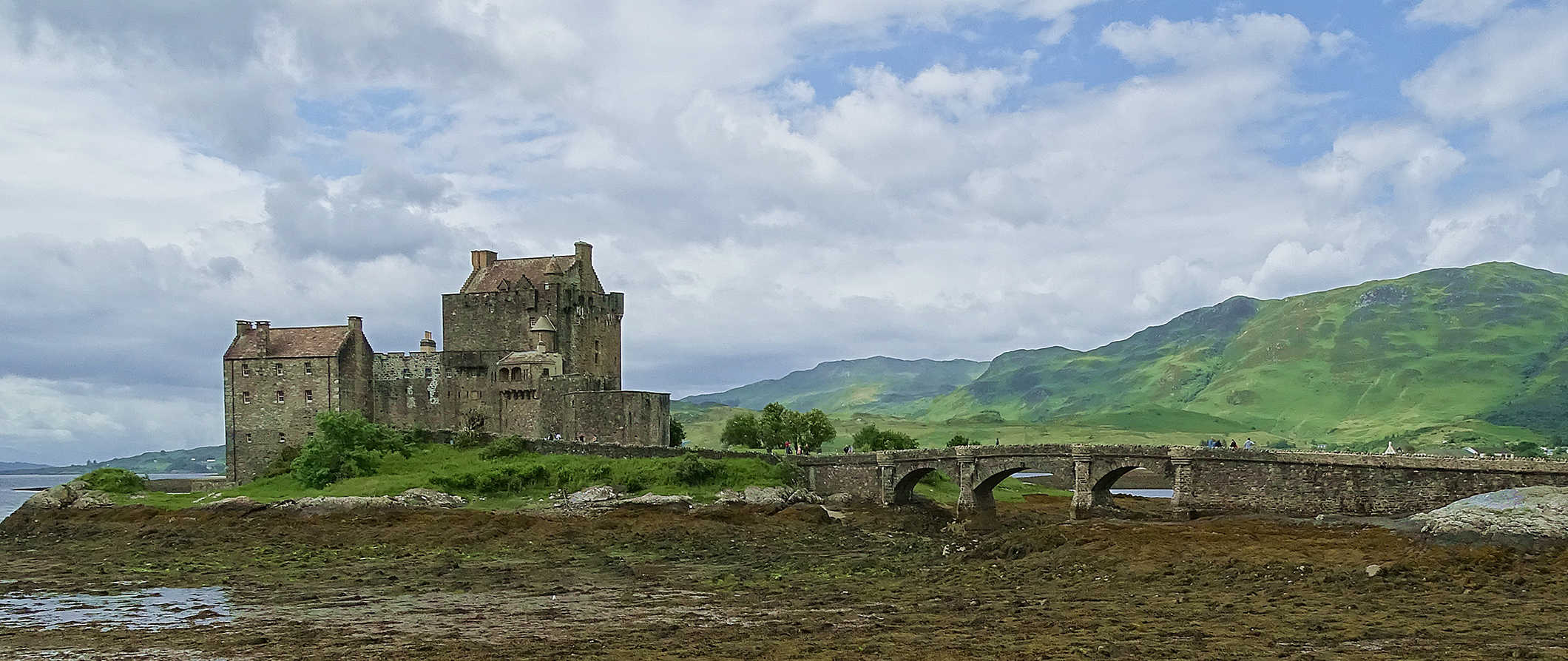 a castle in the Highlands, Scotland