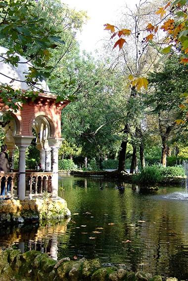 the Parque de Maria Luisa in Seville, Spain