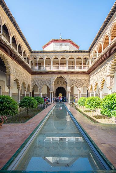 the Alcázar