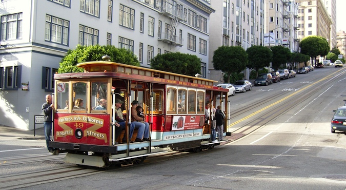 Ride the iconic cable cars in San Francisco