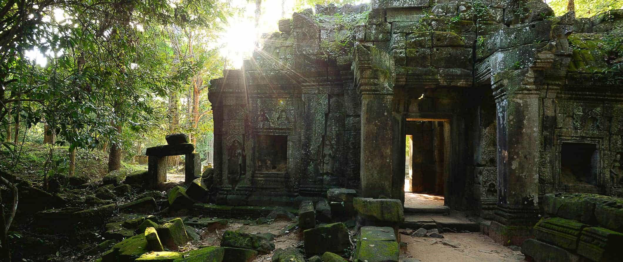 temple view in Siem Reap