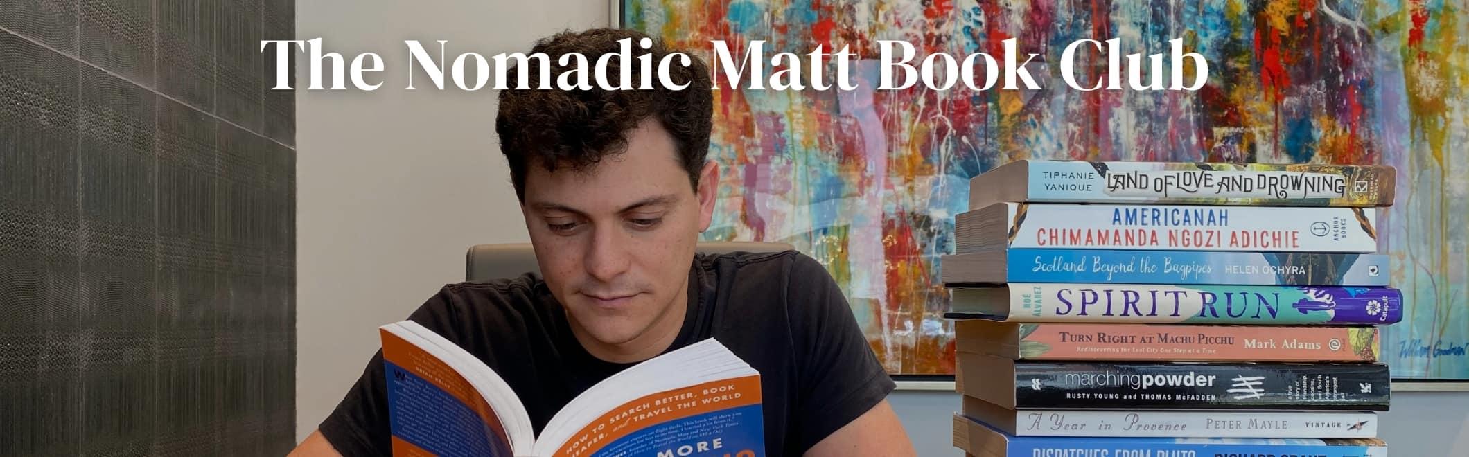 The Nomadic Matt Book Club