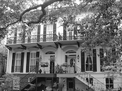 An old home in Savannah, Georgia