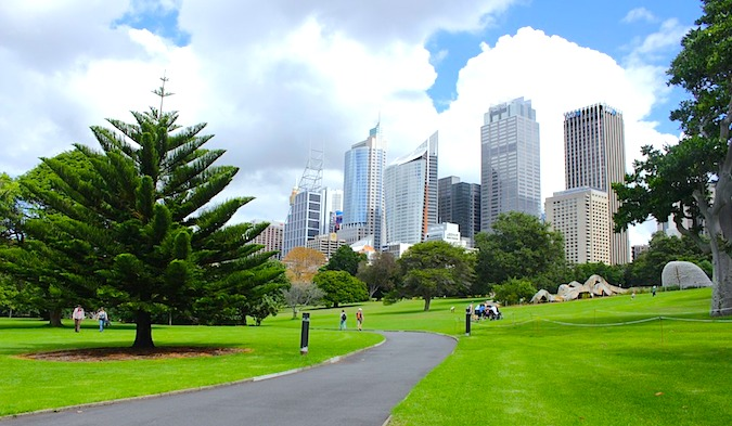 Gardens in Sydney
