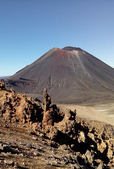 The martian terrain of the Tongariro Crossing