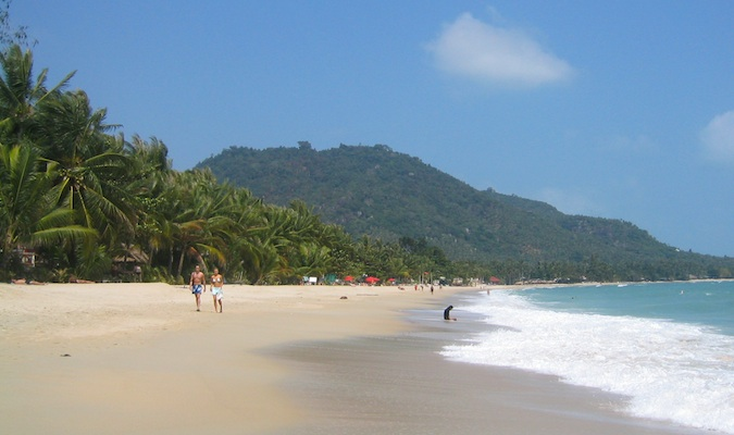 The beautiful beaches of Ko Samui in Thailand