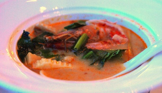 Tom Yum soup in Thailand