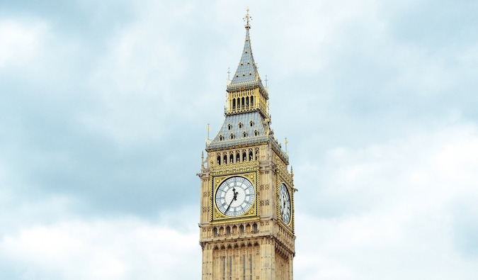 telling time on big ben