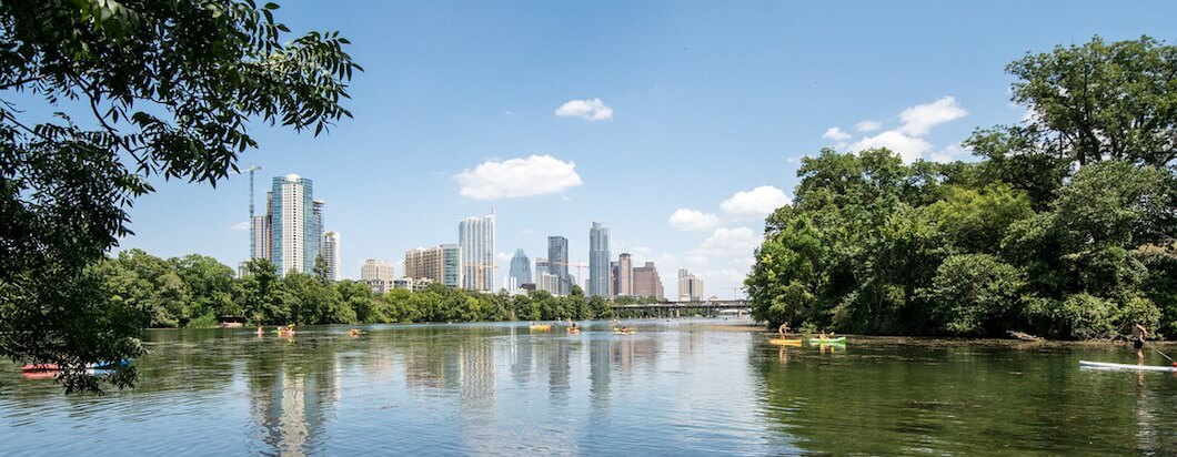 Austin Texas on a beauitful day