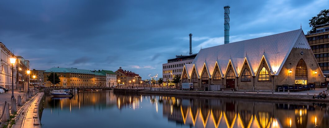 Traveling to Gothenburg, the second largest city in Sweden
