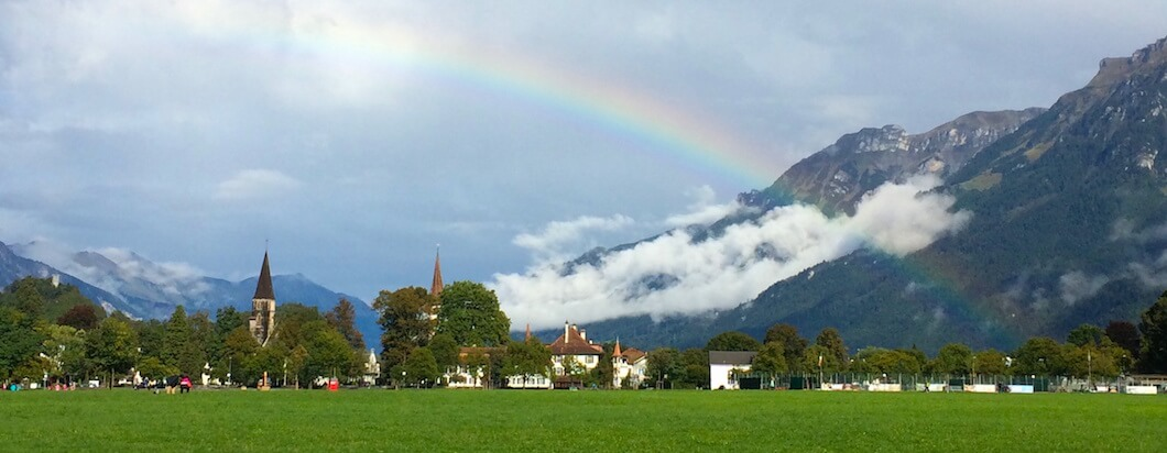 Heading to the adventure capital of the world to skydive, ski, paraglide and explore interlaken, switzerland