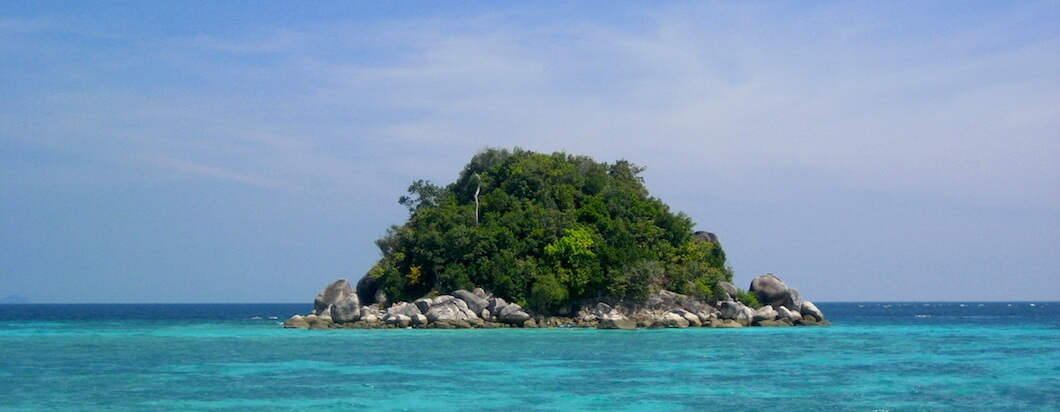 Traveling to Ko Lipe, a beautiful island in southern Thailand