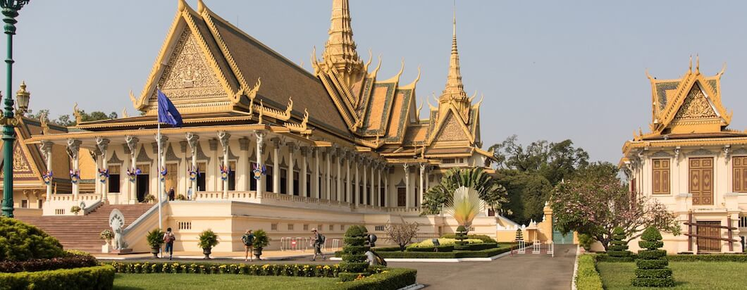 Backpacking through Phnom Phen, the capital of Cambodia