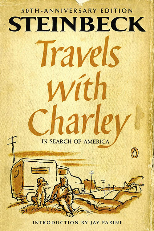 Travels with Charley in Search of America book cover image