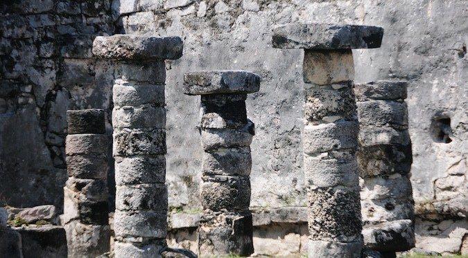 old pedestals