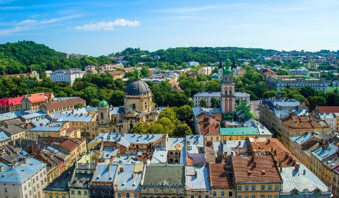 Ukraine rooftops