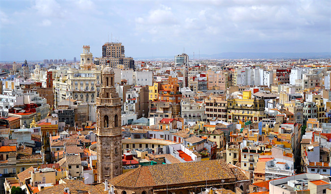 View of Valencia, Spain