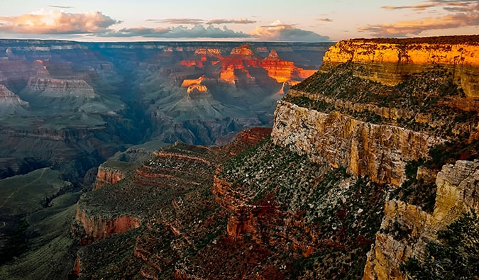 Visit the Grand Canyon just outside Las Vegas, Nevada