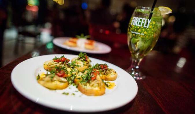 Dine at one of Las Vegas's great restaurants, like Firefly