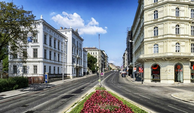 streets in vienna
