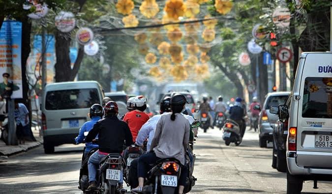 busy vietnam