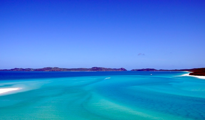 a view of the whitsundays