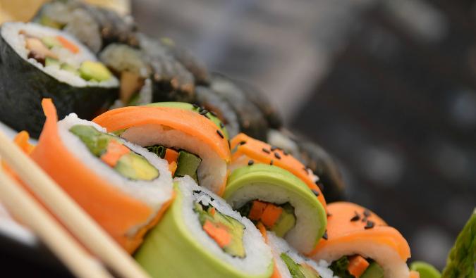 Bangkok sushi